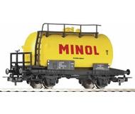 """модель Piko 57713 Цистерна двухосная """"Minol"""". Принадлежность DR, Германия. Эпоха IV. Серия Хобби."""