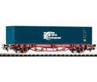 модель Piko 57773 Платформа с контейнером Transcontainer. Принадлежность DB, Германия. Эпоха VI. Серия Хобби.