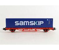 модель Piko 57778 Платформа с контейнером SAMSKIP. Принадлежность DB, Германия. Эпоха VI. Серия Хобби.