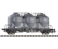 модель Piko 58321 Набор из 3-х вагонов для перевозки сыпучих грузов Ucs912. Серия Эксперт.