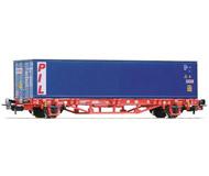 модель Piko 58714  Платформа тип Lgs579, с контейнером PIL. Принадлежность DB AG. Эпоха VI