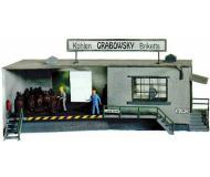 модель Piko 61108 Здание офиса из комплекта Угольная сортировочная станция, 210х230х71 мм.