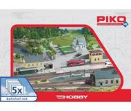 """модель Piko 61923 Набор строений """"Вокзал"""" 5 в 1"""