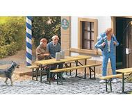 модель Piko 62282 Cafe Table & Bench 3 Sets