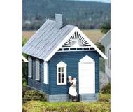 модель Piko 62708 Washburn´s Gingerbread House Built-Up Здание полностью собрано.