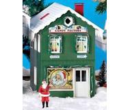модель Piko 62713 North Pole Candy Factory Built-Up Здание полностью собрано.