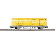 модель Piko 96042 Платформа с двумя 20-ти футовыми контейнерами. Серия Хобби.
