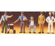 модель Preiser 10014 Люди различных служб США, 5 шт.