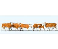 модель Preiser 10146 Коровы 6шт.