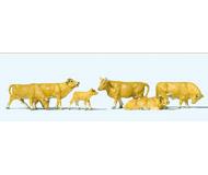 модель Preiser 10147 Коровы, 6 шт.