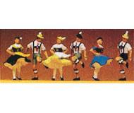 модель Preiser 10240 Танцоры,6 шт.
