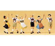 модель Preiser 10241 Танцоры, 3 пары