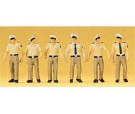 модель Preiser 10340 Немецкие полицейские, 6 шт.