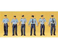 модель Preiser 10341 Французские полицейские, 6 шт.