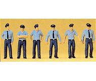 модель Preiser 10342 Пожарники в летней форме, Германия, 6 шт.