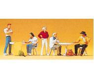 модель Preiser 10349 Художники и студенты в кафе