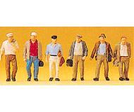 модель Preiser 10366 Загородные рабочие, 6 шт.