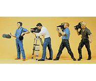модель Preiser 10421 Съёмочная группа, 4 фигурки.