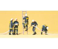 модель Preiser 10485 Пожарная команда в движении, 5 шт.
