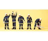 модель Preiser 10486 Пожарная команда , 5 шт.