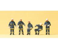 модель Preiser 10487 Пожарные, эпоха IV, 5 шт.