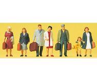 модель Preiser 10505 Идущие путешественники, 7 шт.