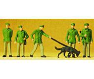 модель Preiser 14008 Полицейские, 6 шт.