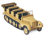 модель Preiser 16544 Автомобиль  на гусеничном ходу 3t SdKfz 11.