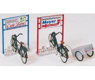 модель Preiser 17163 Велосипеды на стоянке