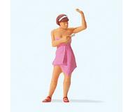 модель Preiser 28143 Женщина с дезодорантом
