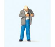 модель Preiser 28195 Мужчина достает кошелек для оплаты