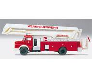 модель Preiser 31180 Пожарный автомобиль Mercedes-Benz LA1924