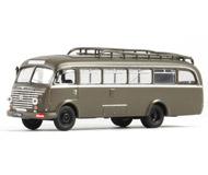 модель Roco 05404 Автобус Steyr 480A. Принадлежность - армия Австрии (ÖBH). Вместимость - 33 сидячих места и 10 стоячих.