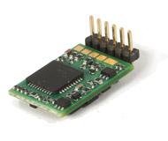 модель Roco 10887 Цифровой 6-контактный декодер с угловыми контактами (NEM 651).