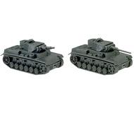 модель Roco 174 танк Panzer III EDW