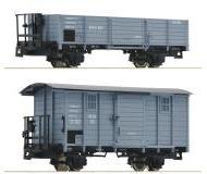 модель Roco 34559 H0e-2-teilig Set: RuKB Güterwagen