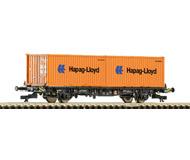 модель Roco 37514 Вагон для перевозки контейнеров. Принадлежность Германия, DB AG. Эпоха V. Длинна 124 мм.