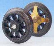 модель Roco 40188 Комплект колесных пар, диаметр 11 мм. Установлен лепестковый пружинный контакт для соединения колеса и оси