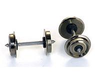 модель Roco 40199 Комплект колесных пар, оба колеса изолированы от оси. Диаметр 11 мм.