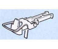 модель Roco 40243 Стандартная сцепка с накидной петлей, комплект 2 шт.