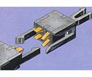 модель Roco 40345 Сцепка электрическая, четырехполюсная, 2 шт. в комплекте