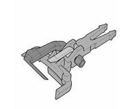 модель Roco 40397 Сцепка типа кобра 1 шт.