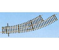 модель Roco 42464 Стрелка радиусная R2/3 левая BWl 2/3. Угол 30°, внутренний радиус 358мм (R2), внешний радиус - 419,6мм (R3).Высота рельса 2.1 мм. Переключающие механизмы в комплект не входят, их нужно покупать отдельно. К данной стрелке подходят механизмы 40295, 40297, 10030.