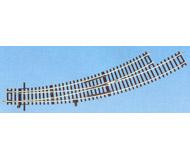 модель Roco 42470 Стрелка радиусная R5/6 левая BWl 5/6. Угол 30°, внутренний радиус 542,8мм (R5), внешний радиус - 604,4мм (R6).Высота рельса 2.1 мм. Переключающие механизмы в комплект не входят, их нужно покупать отдельно. К данной стрелке подходят механизмы 40295, 40297, 10030.
