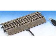 модель Roco 42517 прямые рельсы G1/2 с контактами для подключения к цифровому блоку управления, длина рельс 115мм