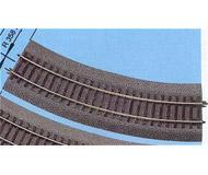 модель Roco 42522 рельсы радиусные, радиус R2 358мм