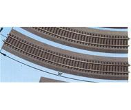 модель Roco 42526 рельсы радиусные, радиус R6 604.4мм