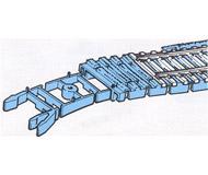 модель Roco 42660 Bettung Flexgleis Holz