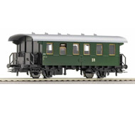 модель Roco 44227 Двухосный пассажирский вагон 2-го класса. Длина по буферам 118 мм.