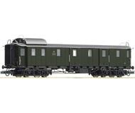 модель Roco 45149 Багажный вагон, Бавария,  эпоха II. Длина по буферам 200 мм.